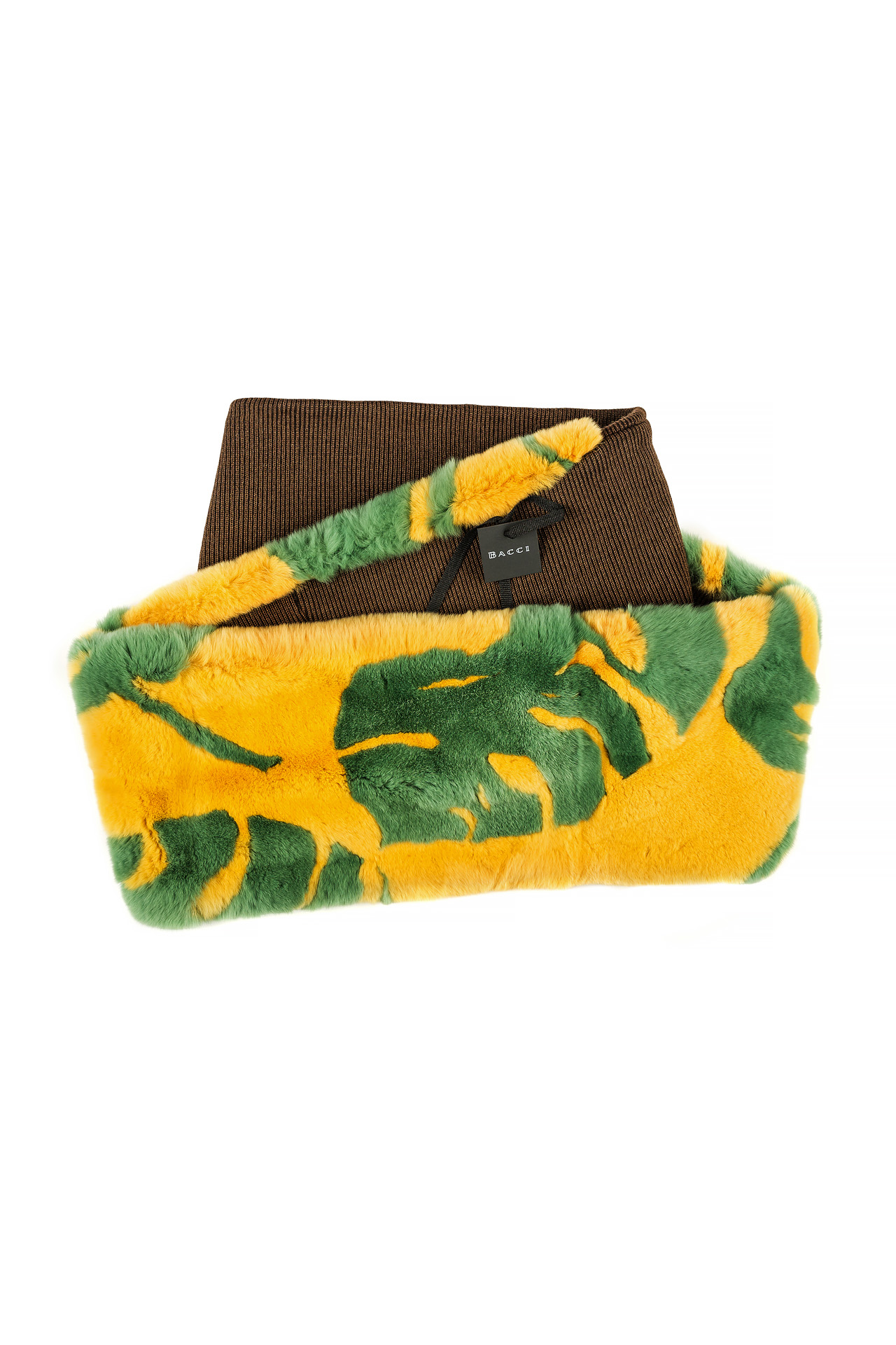 Tube Scarf | Exotic Leaf