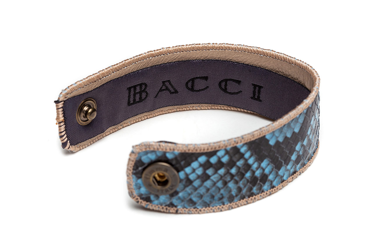 Bracelet | Snake Leather | Bluestone
