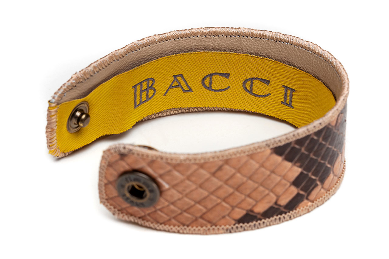 Bracelet | Snake Leather | Nude